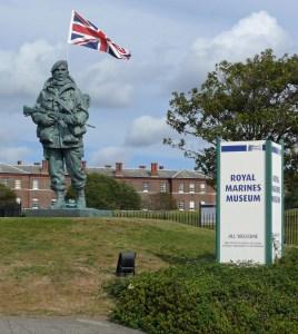 1 Yomper - Falklands Commemorative Statue