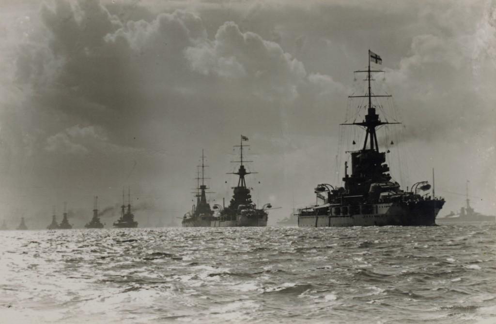 Iron Duke & Fleet WWI