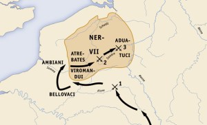 an analysis of caesars campaigns in gaul which began in 58 bc Julius caesar's campaigns in gaul (58-51 bc) whom the romans called galli (gauls), began to cross the rhine into gaul c900 bc and by the 5th century bc had.