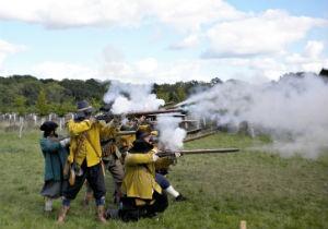 Fortress Newark Under Siege