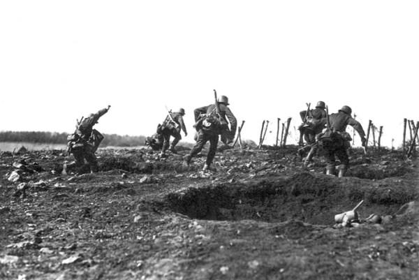 Kaiserschlacht, Spring 1918