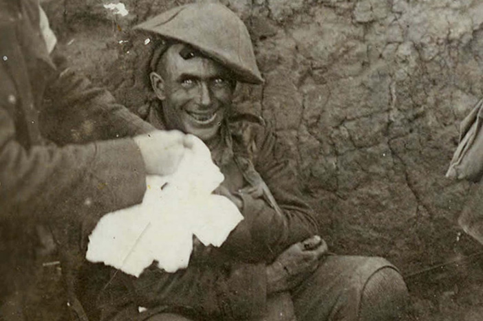Shell shock cover-up at Passchendaele