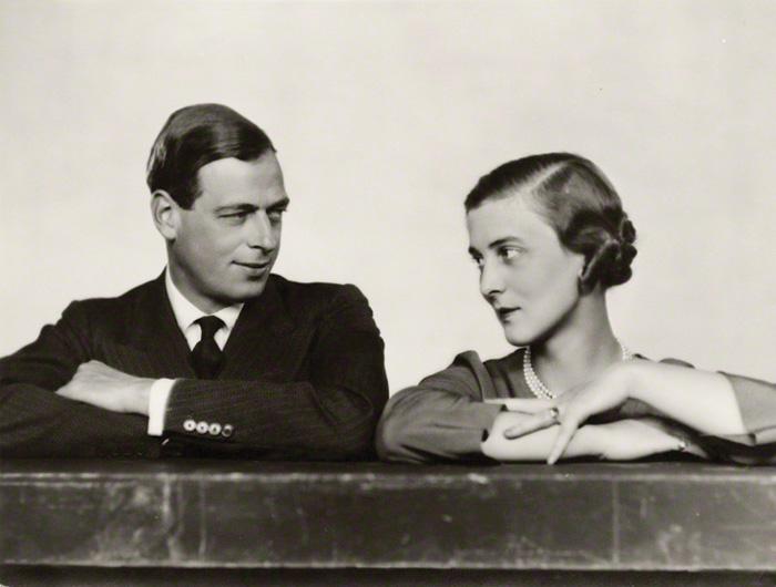 George with his wife, Princess Marina of Greece.