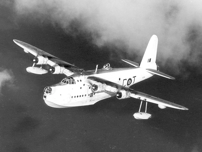 The Short Sunderland Mk V – a variant of the Mk III, the type of plane the Duke of Kent was flying in during his ill-fated journey.