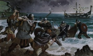 Irish-warriors-meet-Viking-invaders