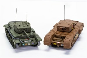 Corgi-Military-Legends-Cromwell-Churchill