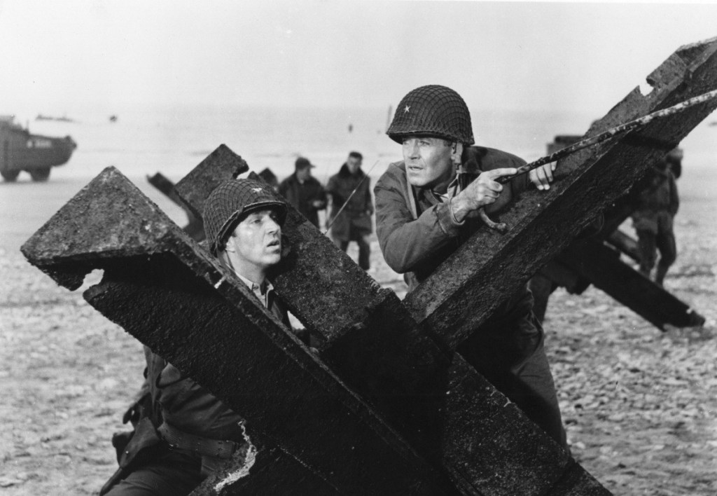 The Longest Day (1962), depicting the landings on Omaha beach.