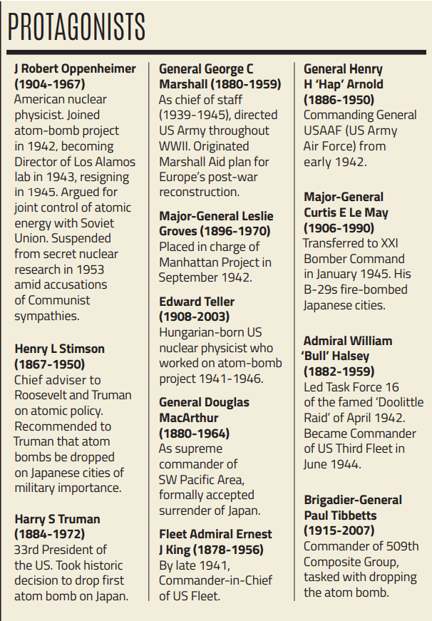 A table from the original print article in Military History Matters magazine.