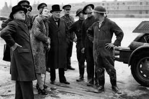 Churchill-at-the-docks