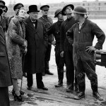 BEHIND THE IMAGE: Churchill visits the docks