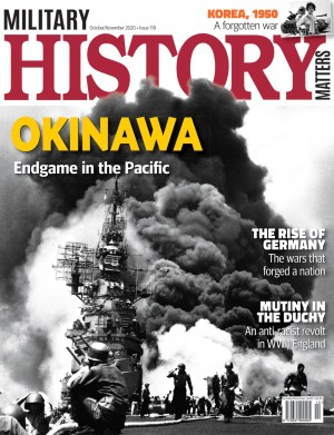 Front cover of Military History Matters 118, the October/November issue.