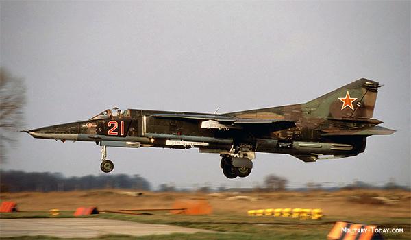 Mikoyan MiG27 Ground Attack Aircraft  MilitaryTodaycom