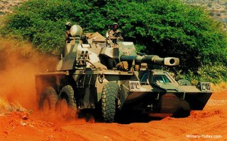 G6 self-propelled gun-howitzer