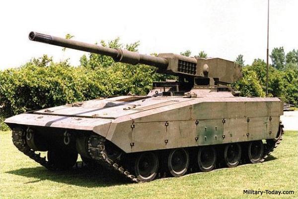 expeditionary tank prototype light