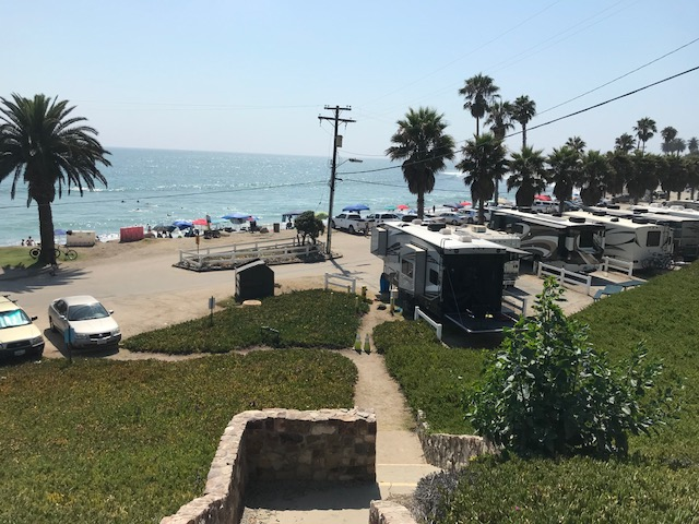 This secluded stretch of beach is sheltered by the bluffs of san onofre state park and camp pendleton marine base. U S Military Campgrounds And Rv Parks San Onofre Recreation Beach