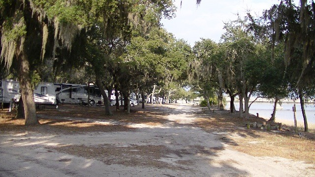 US Military Campgrounds and RV Parks  Mid Bay Shores MaxwellGunter Recreation Area