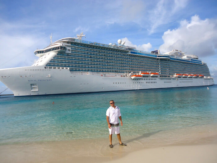 Cruise Ship Grand Turk Caribbean