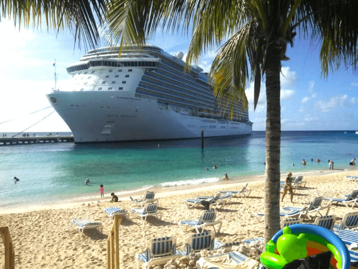Royal Princess In Grand Turk Cruise the Caribbean with a Military and Veteran Discount