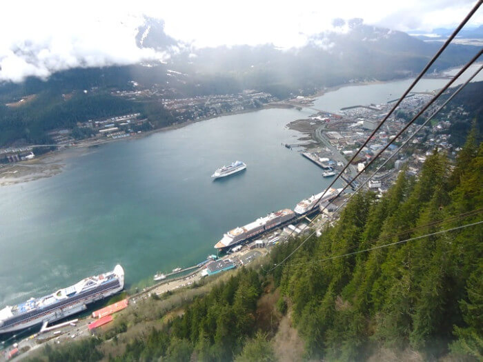 Alaska Cruise Discounts for Military and Veterans View From Mt Roberts
