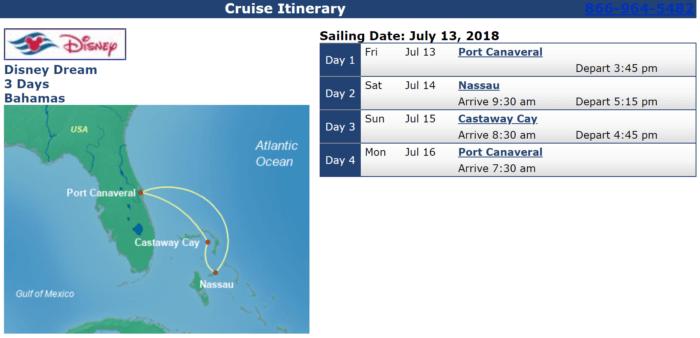 Disney Cruises with Military Discounts Disney Dream Jul 13
