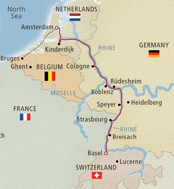 River Cruise through Europe