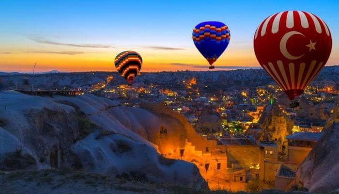 shore excursions Cappadocia Hot Air Balloon Tour