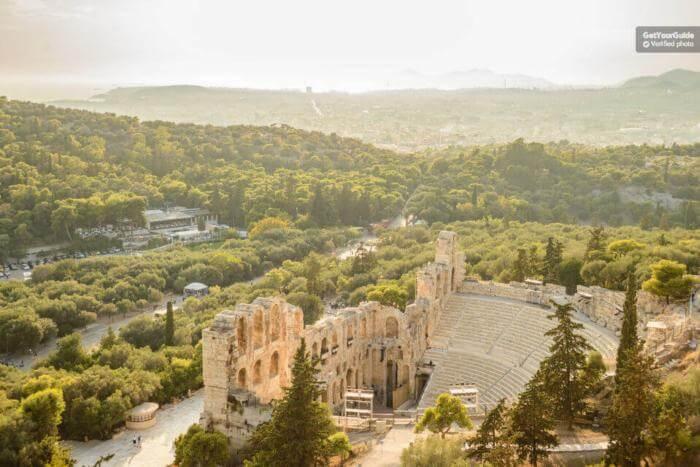 shore excursions Athens Greece the Acropolis