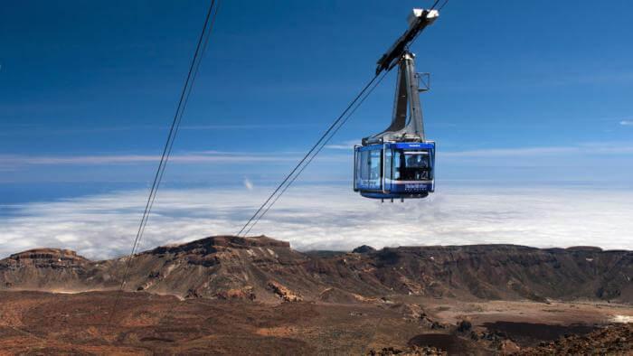 shore excursions Tenerife Mount Teide Cable Car