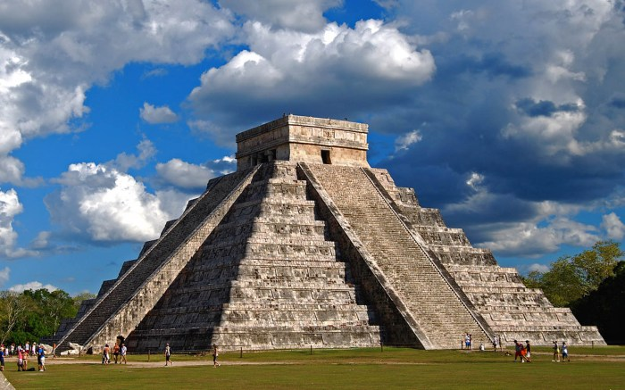 Chichen-Itza in the Yucatan