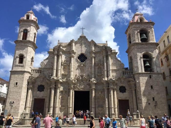 Havana San Francisco Church Cuba Military Veterans Cruise