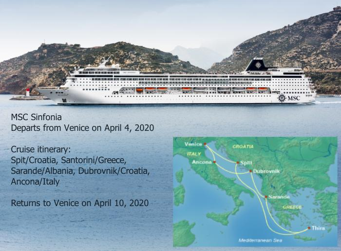 Sinfonia4420 Spring Break Cruise Deals for Military Families in Europe