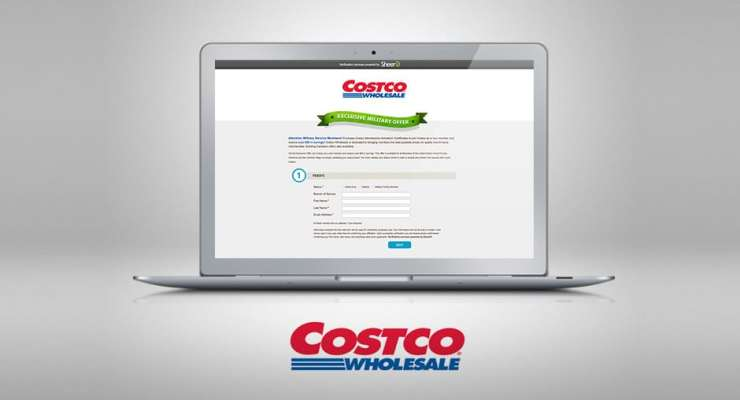 Costco Military Offer