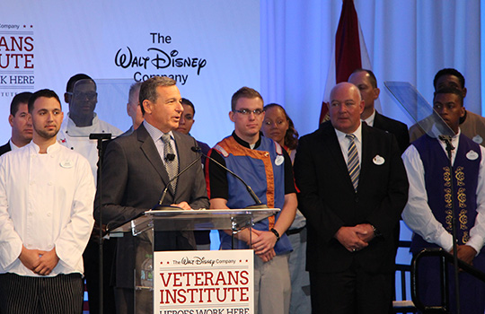 Disney's Veteran's Institute - Bob Iger