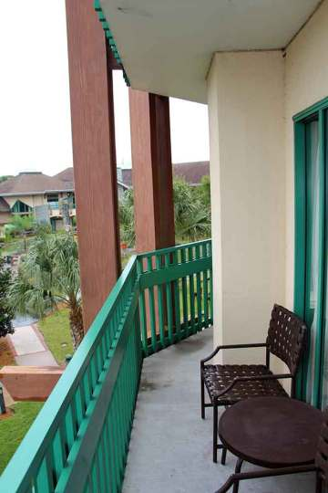 Shades of Green Junior Suite Double Balcony
