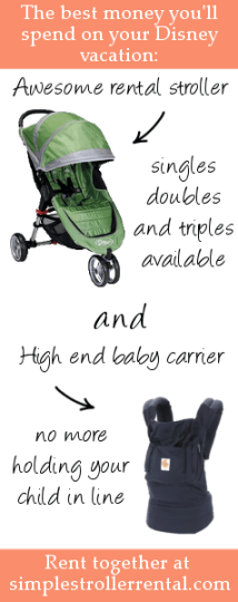Military Discounts on Disney Stroller Rentals