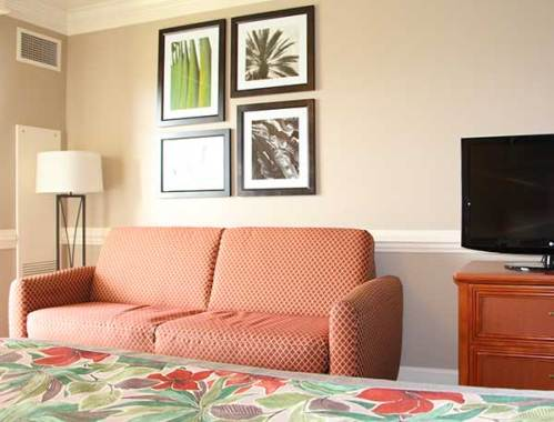 remodeled palm wing rooms at shades of green. Black Bedroom Furniture Sets. Home Design Ideas