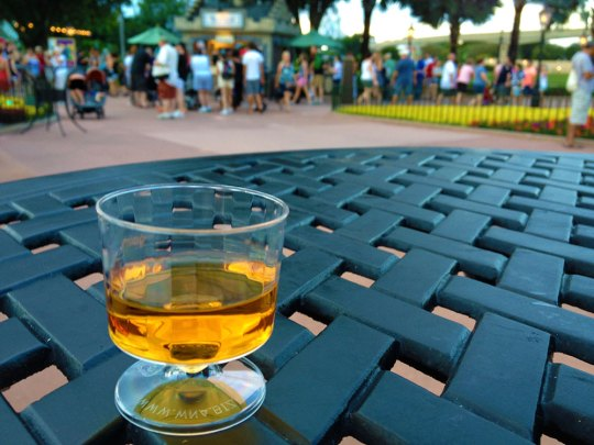 Epcot Food and -Wine Scotch