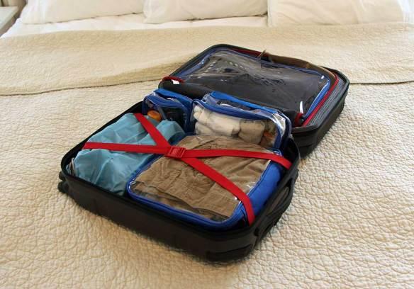 EzPacking Suitcase Organization