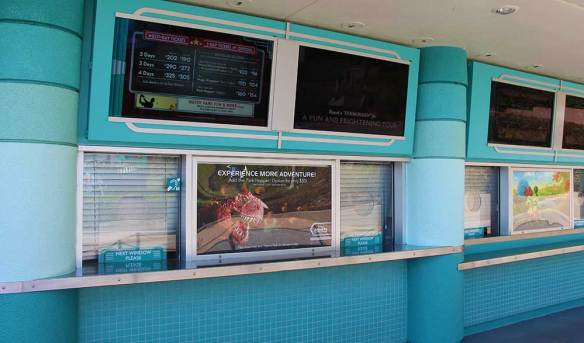 Disney Military Ticket Booth