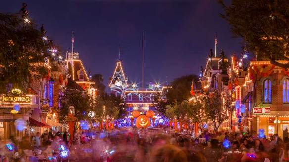 (C) Disney -Disneyland Halloween Time