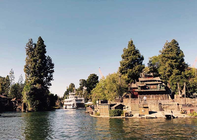 Disneyland Mark Twain Riverboat