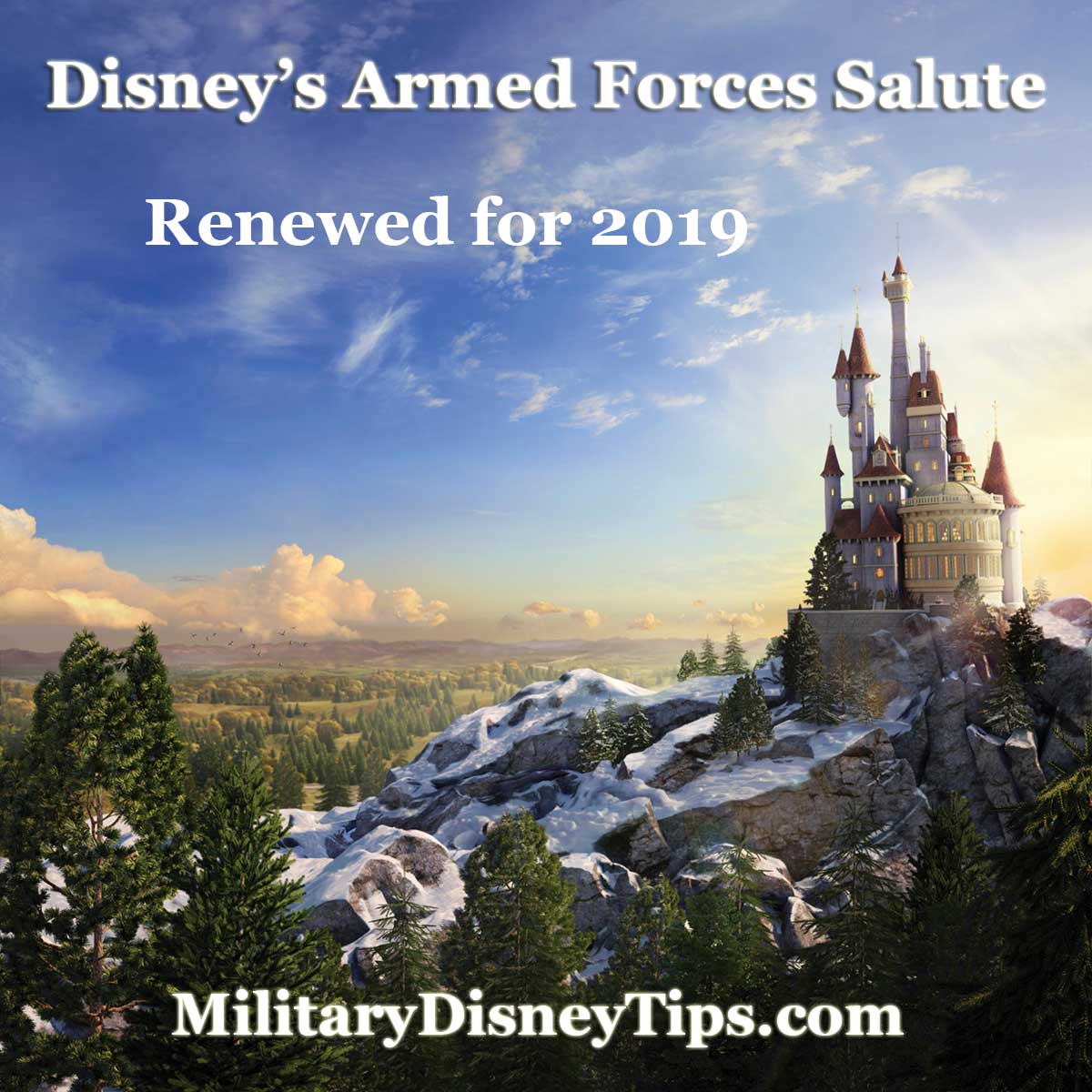2019 Disney Armed Forces Salute Renewal Announced