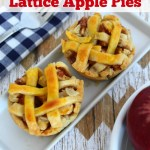 Mini Lattice Apple Pies