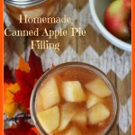 Homemade Canned Apple Pie Filling