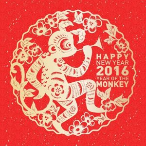 Chinese New Year 2016- The year of the Monkey!