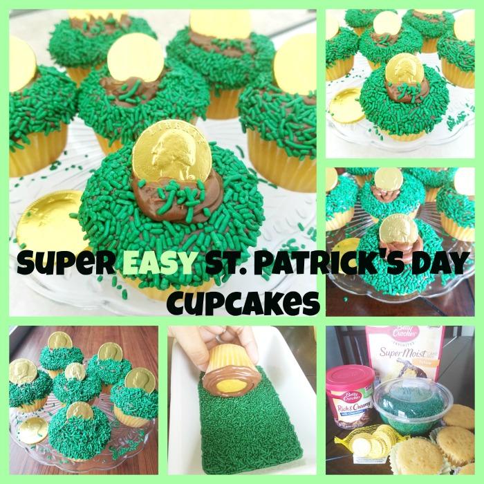 Super Easy St. Patricks Day Cupcakes Original