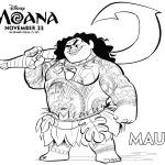Disney Movie: Moana Coloring Pages