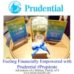 Feeling Financially Empowered with Prudential #Prupárate