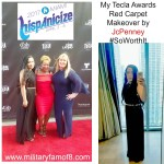 My Tecla Awards Red Carpet Makeover by JcPenney #SoWorthIt