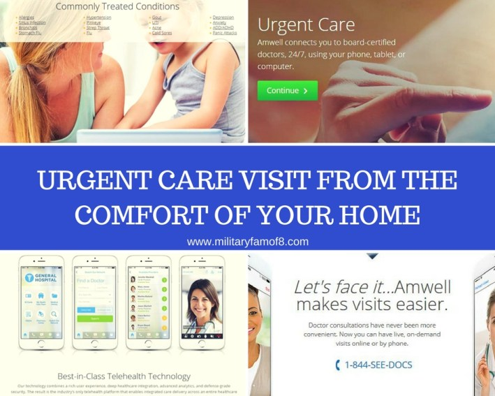 Urgent Care Visit From the Comfort of Your Home